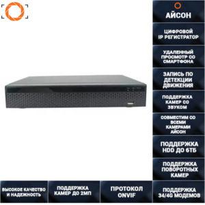 IP видеорегистратор 1080p на 4 канала IPNVRD420