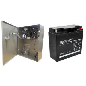 Комплект блок бесперебойного питания (ИБП) + батарея 17а/ч (АКБ)