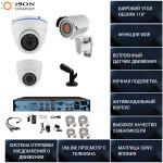 Готовая система видеонаблюдения Айсон VS Подъезд-4