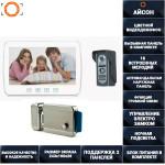 Видеодомофон 10 дюймов T1001C с вызывной панелью с электрозамком