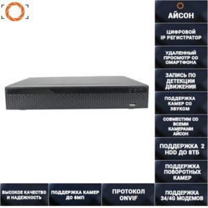 25 канальный IP регистратор IPNVRCB2536
