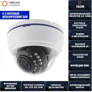AHD камера с зумом 5 мегапикселей 2,8-12мм AHDDZ20HTC500F