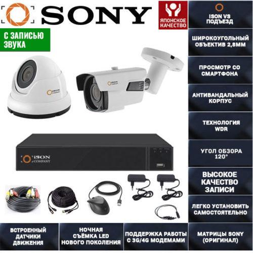 Готовая-система-видеонаблюдения-ISON-VS-Подъезд-2-1