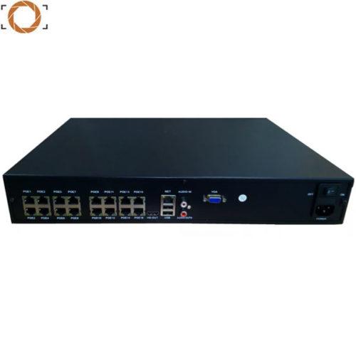 25 канальный (16 POE) IP видеорегистратор ISON-NVR16POE1