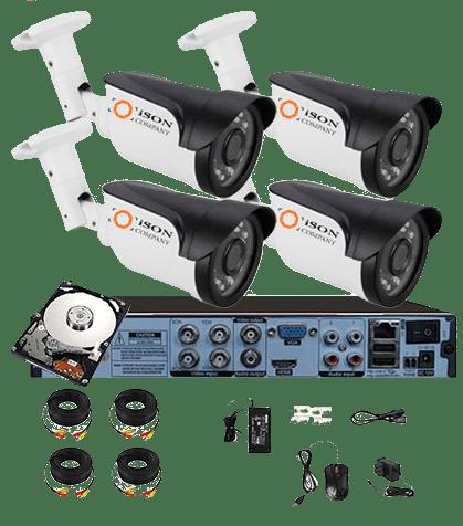 Камеры видеонаблюдения ISON с бесплатной доставкой по РФ!