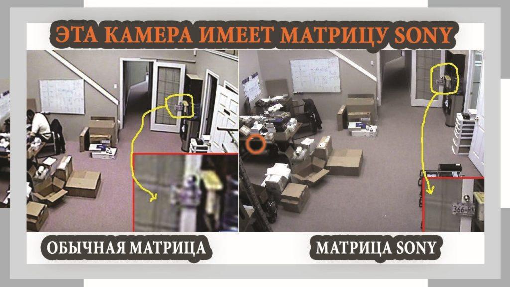 Матрицы в системах видеонаблюдения?