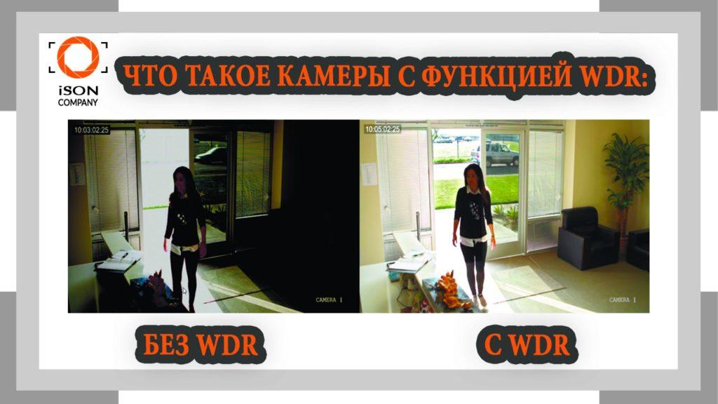 Что такое камеры видеонаблюдения с WDR?