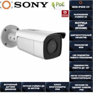 IP камера видеонаблюдения 5 мегапикселей с POE ISON IP50S-CV