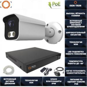 Система видеонаблюдения на 1 камеру с записью звука ISON TRON-1